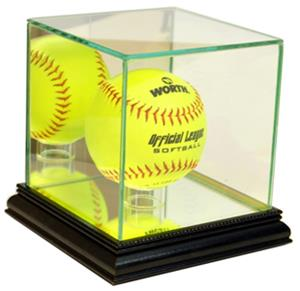 "Perfect ""Softball"" Display Cases"