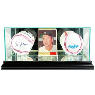 "Perfect ""Card and Double Baseball"" Display Cases"