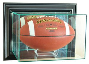 "Perfect "" Wall Mounted Football"" Display Cases"