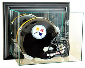 "Perfect ""Wall Mount Football Helmet"" Display Cases"