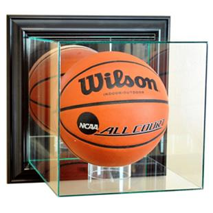 """Perfect """"Basketball"""" Wall Mounted Display Cases"""