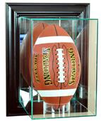 Perfect Upright Football Wall Mount Display Cases