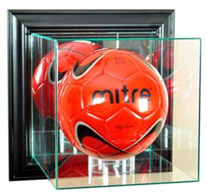 Perfect &quot;Soccer&quot; Wall Mount Display Cases