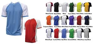 Dubes Milan Crossover V-NeckSoccer Jersey Closeout