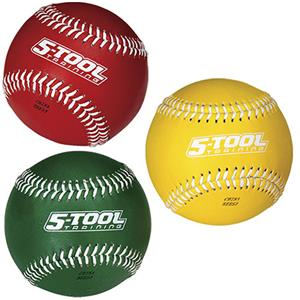 Rawlings 5-Tool Weighted Training Baseballs-Set