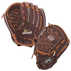 "Rawlings Adult Fast Pitch 12.5"" Softball Gloves"