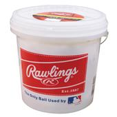 Rawlings Bucket of 24 Recreational Baseballs