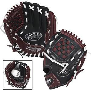 "Rawlings Youth Players 9"" T-Ball Baseball Gloves"