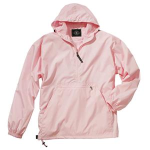 Pack-n-Go Pullover Pink Jacket - Cancer Awareness