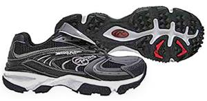 Rawlings Men&#39;s Ambush Turf Low Football Shoes