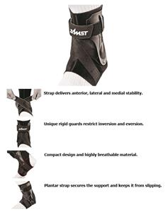 Zamst A2-DX Strong Support Left Side Ankle Brace