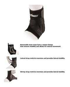 Zamst A1 Moderate Support Left Side Ankle Brace