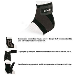 Zamst A1-S Moderate Support Left Side Ankle Brace