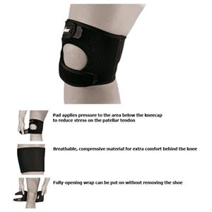 Zamst JK-1 Moderate Support Unisex Youth Knee Wrap