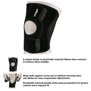 Zamst SK-3 Light Support Short Length Knee Support