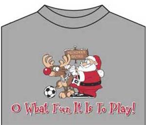 Utopia Soccer Oh What Fun T-shirt