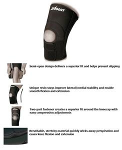 Zamst ZK-3 Moderate Support Semi-Open Knee Support