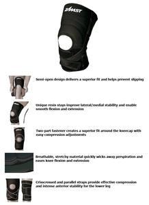 Zamst ZK-7 Strong Support Sleeve-Type Knee Support