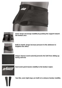Zamst ZW-5 Moderate Support Lumbar Belt Support