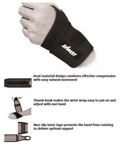 Zamst Light Support Elastic Wrist Band