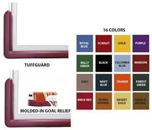 Basketball TuffGuard Backboard Padding 16 Colors