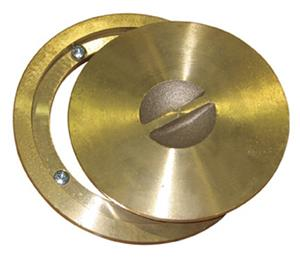 Basketball Brass Ring & Cap/Floating Floors Anchor