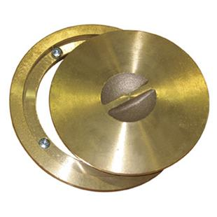 Basketball Brass Ring & Cap/Floating Floors Anchor