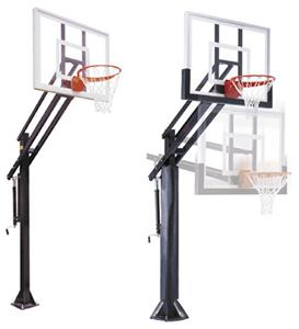 First Team Attack II Adjustable Basketball Goal