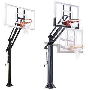 First Team Attack Pro Adjustable Basketball Goal