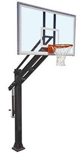 First Team Titan Supreme Adjust Basketball Goal