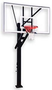 Olympian Supreme Adjustable Basketball Goal System