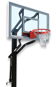Challenger Turbo Adjustable Basketball Goal System