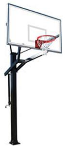 PowerHouse 672 Adjustable Basketball Goal System