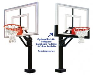 HydroChamp II Swim Pool Adjustable Basketball Goal
