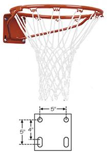 FT170 Heavy Duty Front Mount Fixed Basketball Goal