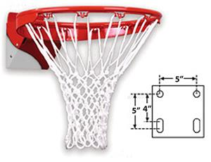 FT186ZC Heavy Duty Flex Basketball Goal Zinc Coat
