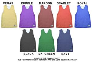 Women's Nylon Reversible Basketball Jerseys