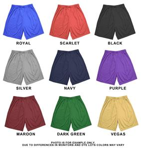 Adult Varsity 9&quot; Inseam Mesh Shorts Closeout