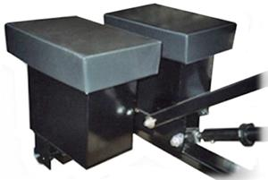 Ballast Box Padding for RollAbout Portable Goals