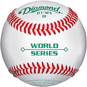 Diamond World Series Raised Seam Baseball D1-WS DS