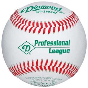 Diamond Professional League Flat Seam Baseball