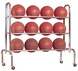 FT15 Economy Basketball Ball Carrier Holds 12