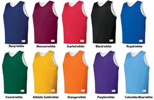 Tricot Mesh Reversible Basketball Jerseys Closeout