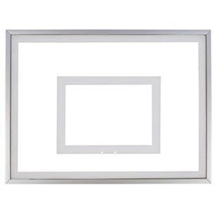 "36""x48"" Framed Acrylic Basketball Backboard"