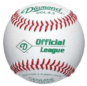 Diamond Official League-Junior Baseballs DOL-8.5