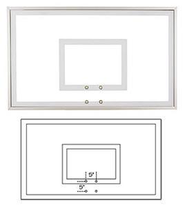 "36""x60"" Response Temper Glass Basketball Backboard"