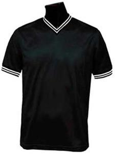 Pre-#ed BLACK Team Soccer Jerseys W/WHITE #s