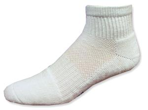 Pro Feet White Quarter Socks 3 Pack (Closeout)