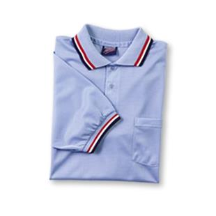 "Dalco ""Lt. Blue/Scarlet Collar"" Umpire Shirts"