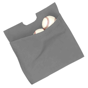 "Dalco 10"" or 11.5"" Umpire Ball Bags"